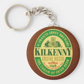 Kilkenny Basic Round Button Key Ring