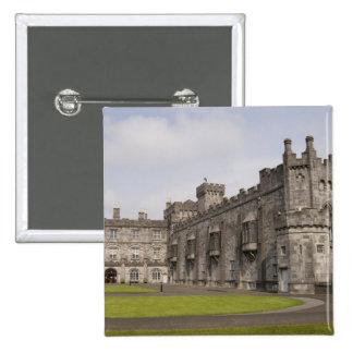 Kilkenny Castle, County Kilkenny, Ireland. 15 Cm Square Badge