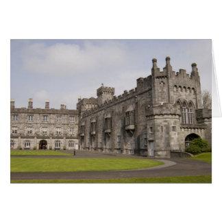 Kilkenny Castle, County Kilkenny, Ireland. Greeting Card