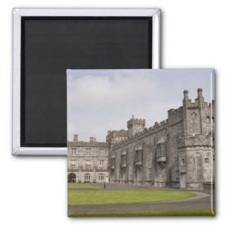 Kilkenny Castle, County Kilkenny, Ireland. Square Magnet