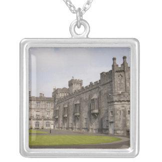 Kilkenny Castle, County Kilkenny, Ireland. Square Pendant Necklace