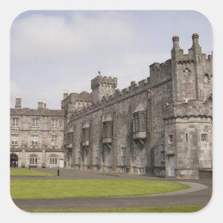 Kilkenny Castle, County Kilkenny, Ireland. Square Sticker