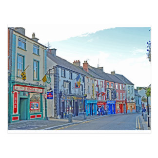 Kilkenny Street Tom Wurl Postcard