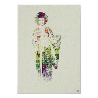 Kimono Dancer Photograph