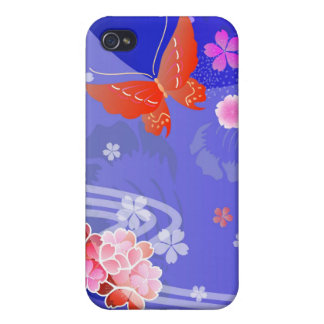 Kimono - Traditional Japanese Design iPhone Case iPhone 4 Covers