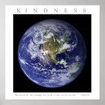 KINDNESS - Motivational Print w. Gandhi quote
