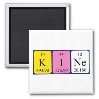 Kine periodic table name magnet
