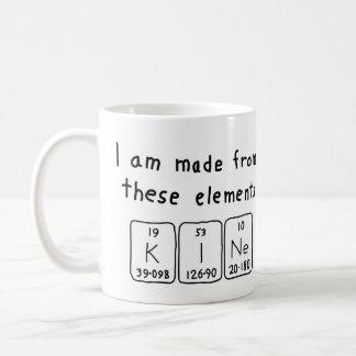 Kine periodic table name mug