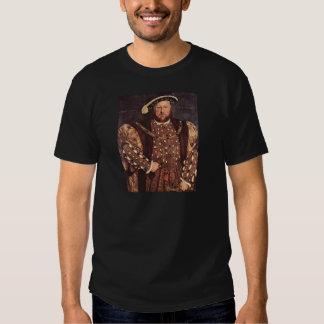 King Henry VIII Men's Black T-Shirt