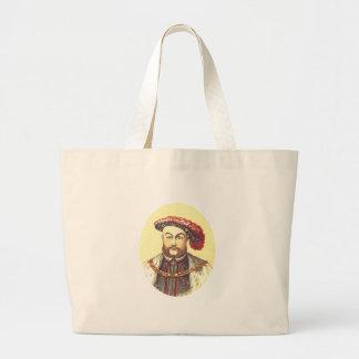 King Henry VIII, the Eight, 8th Jumbo Tote Bag