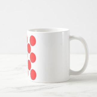 King of the Mountain dots Basic White Mug