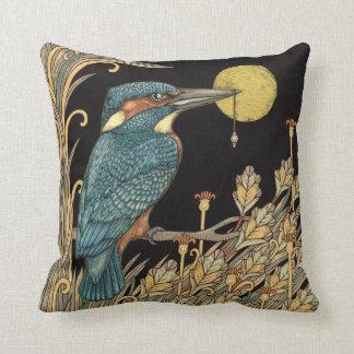 Kingfisher Throw Pillow Cushion