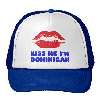 Kiss Me I'm Dominican lips Cap