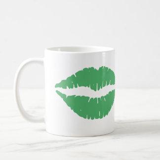 Kiss Me I'm Irish St. Patty's Day Basic White Mug