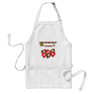 Kisses And Hugs For My Coastie Apron