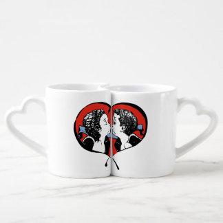 Kissing Couple - boy surprised Lovers Mug