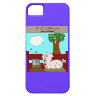 Kit Kitty Redefines:  Ham Radio iPhone 5 Cover