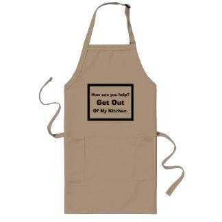 Kitchen help humor long apron