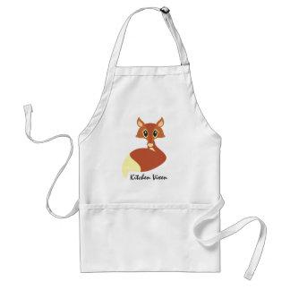 Kitchen Vixen Fox Apron