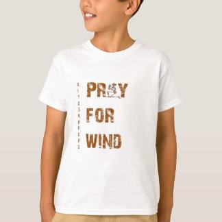 Kite Surfers Pray For Wind Tshirts