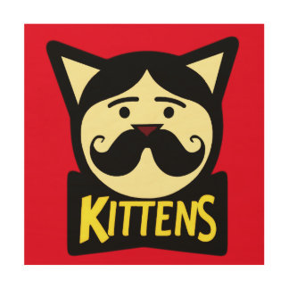 Kittens Wood Canvases