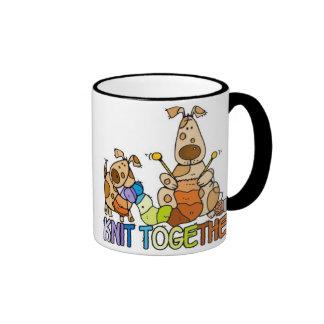 knit together mug