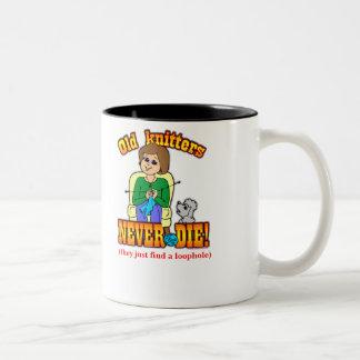 Knitter Two-Tone Mug