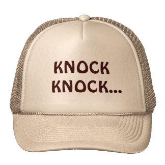 Knock Knock Cap