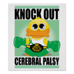 Knock Out Cerebral Palsy Poster