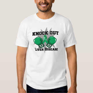 Knock Out Liver Disease Tee Shirt