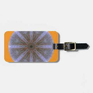 Kofferanhänger - Blüten-Mandala-1 Tag For Luggage