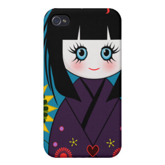 Kokeshi Doll Iphone Case iPhone 4 Cases