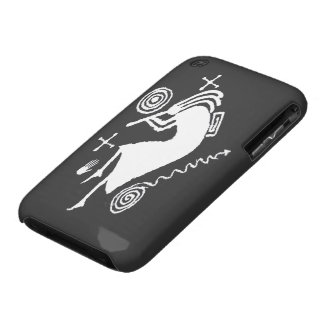 Kokopelli Carving iPhone3 CaseMate iPhone 3 Case