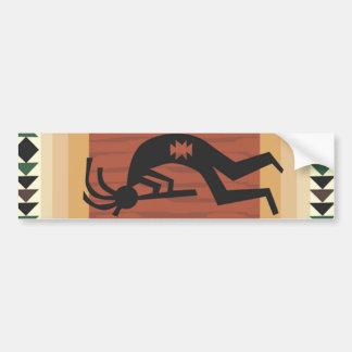 Kokopelli Tribal Design Bumper Sticker