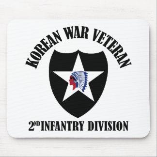 Korean War Veteran - 2nd ID Mouse Pad
