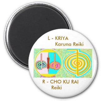 KRIYA n CHOKURAY 6 Cm Round Magnet