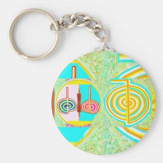 KRIYA n CHOKURAY Basic Round Button Key Ring