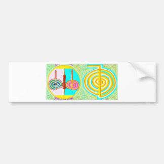 KRIYA n CHOKURAY Bumper Sticker