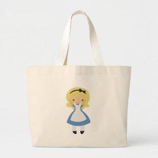KRW Cute Alice in Wonderland Jumbo Tote Bag