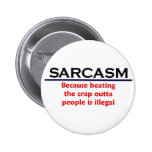 KRW Sarcasm Funny Joke 6 Cm Round Badge