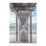 La Jolla, Scripps Pier Gallery Wrap Canvas