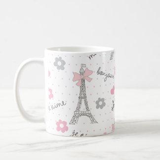 La Parisienne Basic White Mug