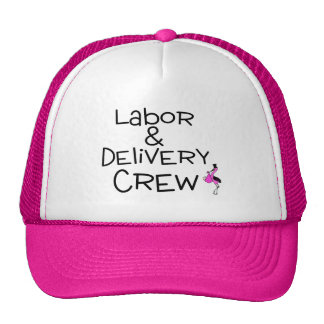 Labor and Delivery Crew Pink Cap