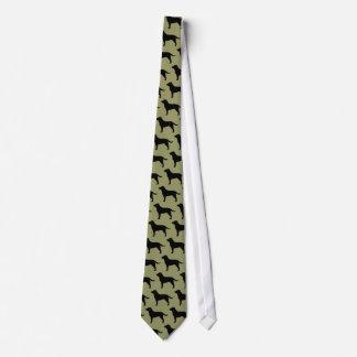 Labrador Retrievers (Black) Tie