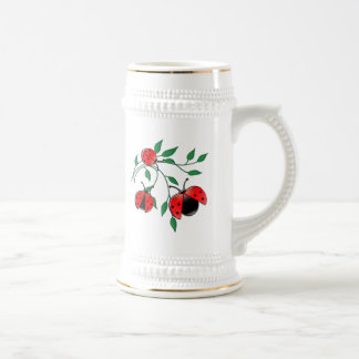 Lady Bug, Lady Bugs Fly Away Home Beer Steins