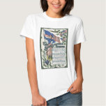 Lady Liberty American Flag Star-Spangled Banner T-shirt