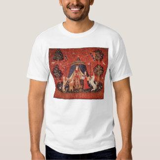 Lady with a Unicorn Tshirts