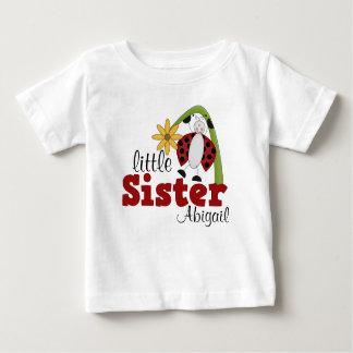 Ladybug Daisy Flower Little Sister Shirt