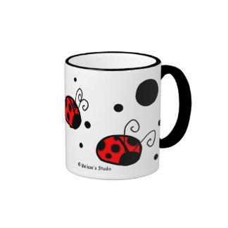 Ladybugs Ringer Mug