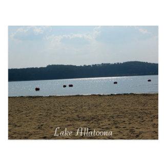 Lake Allatoona, Acworth, Georgia Postcard